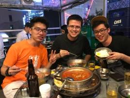 소고기, 돼지고기, 김치찌개, 짬뽕라면